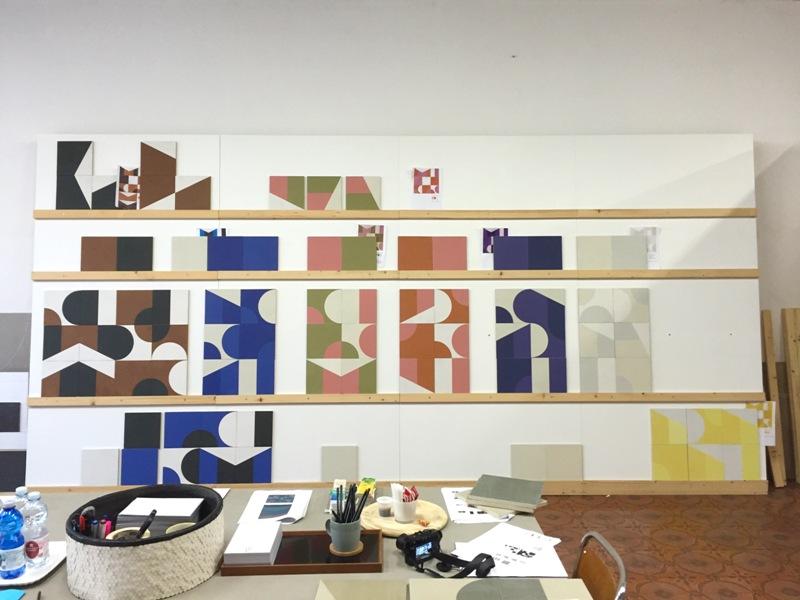 Puzzle di Mutina studio colori