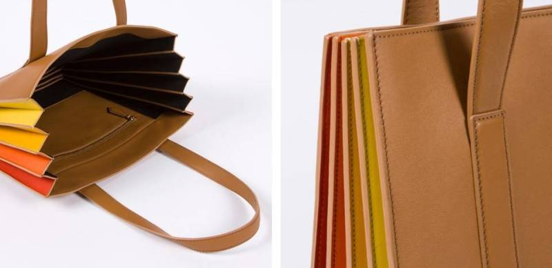 concertina bag by paul smith