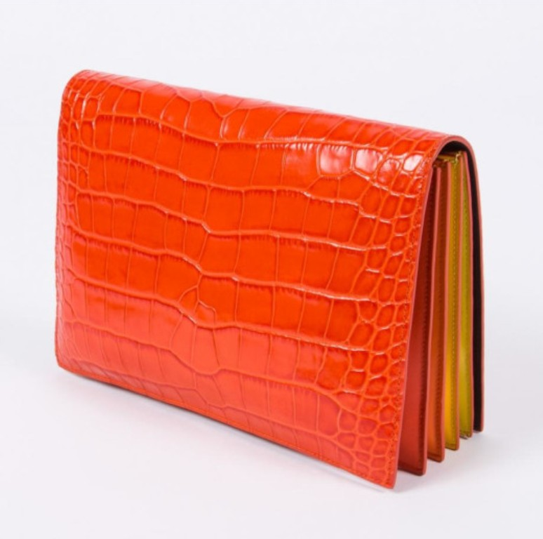 clutch concertina by paul smith
