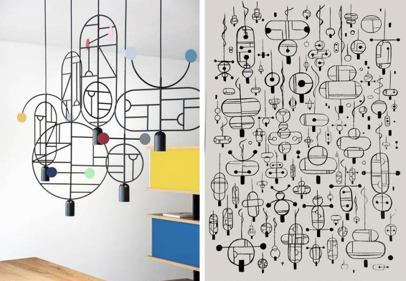 LAMPADE LINES & DOTS - Design Lover