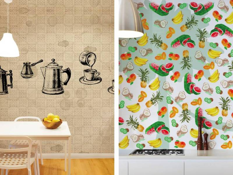 Carta da parati in cucina design lover for Carta da parati ikea 2016