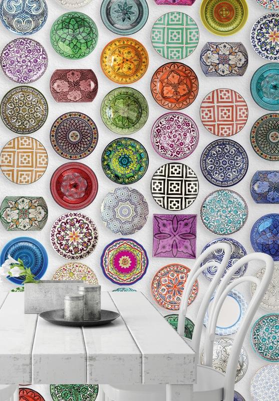 Carta da parati in cucina design lover - Piatti da cucina moderni ...