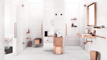 collezione bagno mirage rosa
