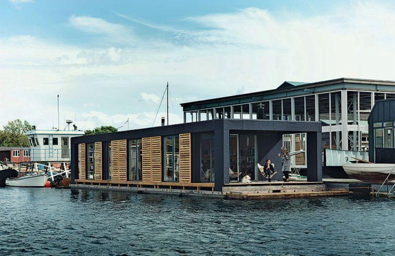 house boat a Copenhagen