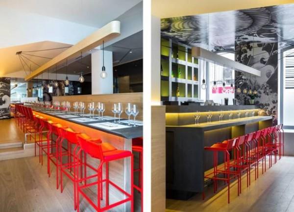 Ristorante giapponese koi design lover for Restaurant koi aix