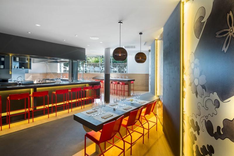Ristorante giapponese koi design lover for En ristorante giapponese
