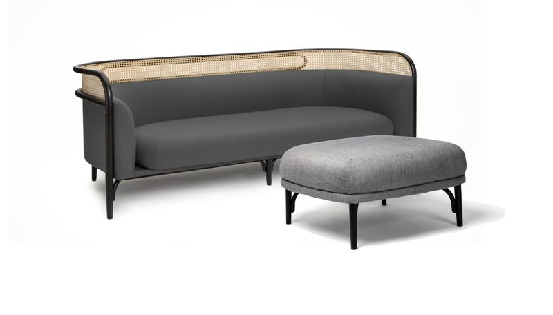 GTV Targa sofa 200 pouf