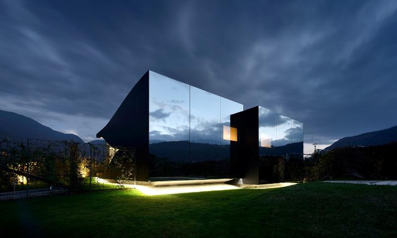 case a specchio Peter Pichler Architecture