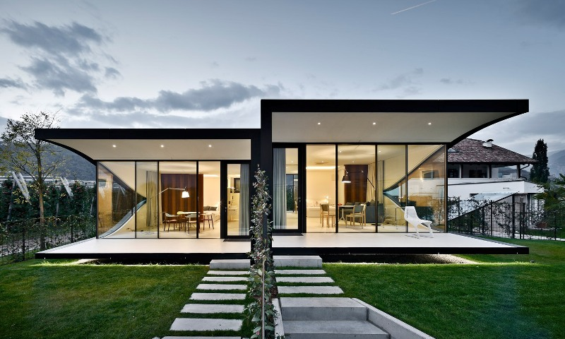 mirror houses Peter Pichler Architecture