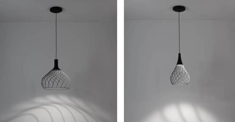 lampada mongolfier di linea light group