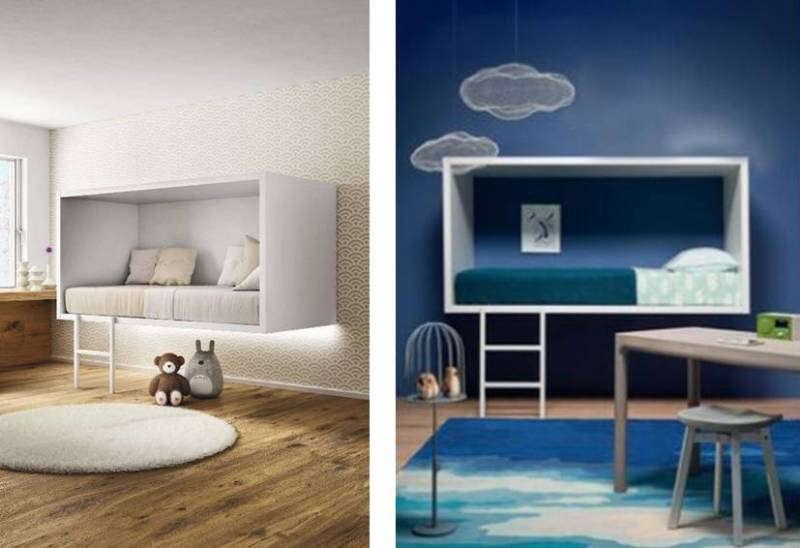 letto cameretta cloud bed by lago