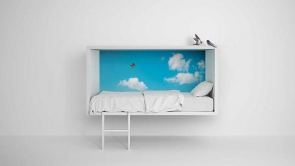 cloud bed di lago