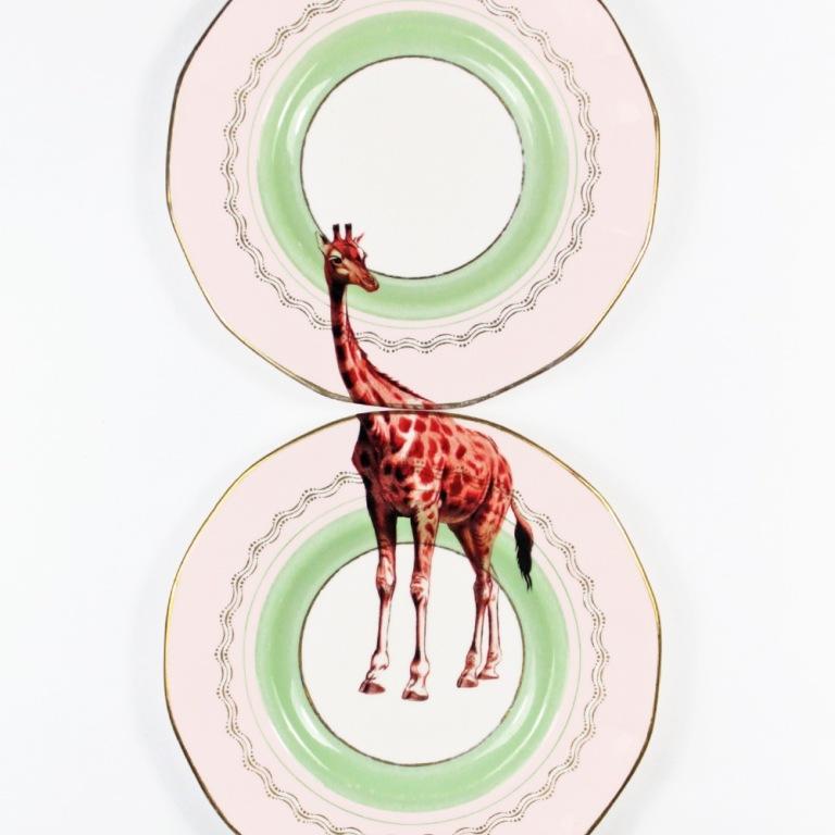 set piatti flamingo Yvonne Ellen