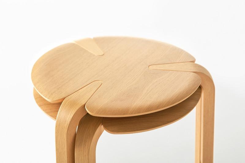 clover stool by Taiyou & C