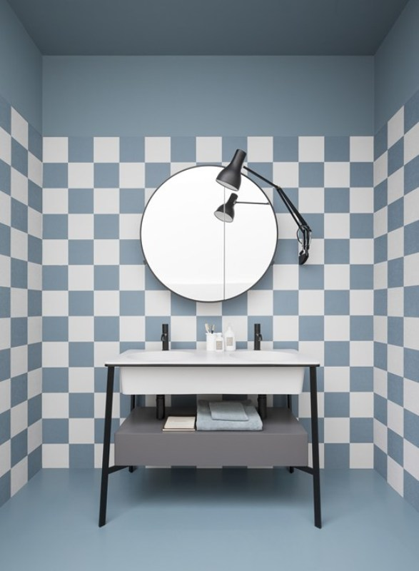 lavabo il Doppio Ceramica Cielo