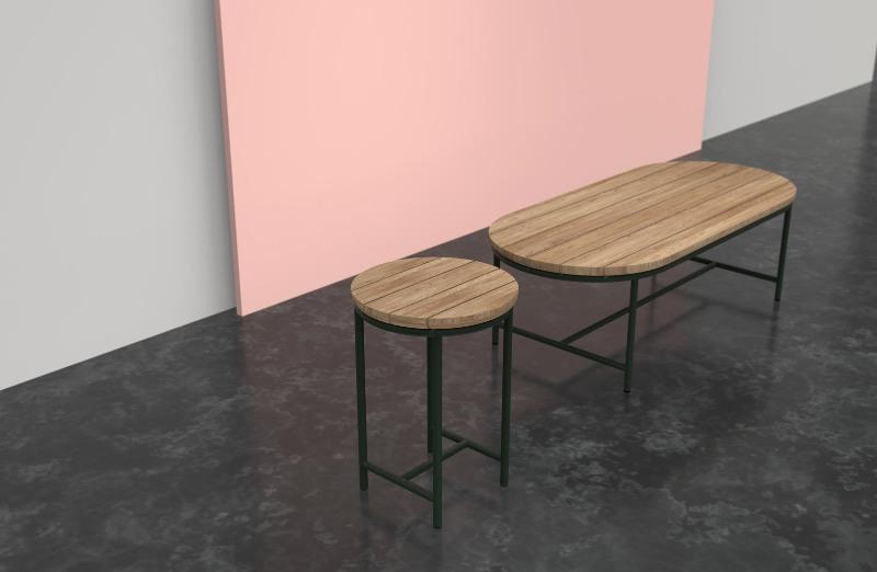 collezione di tavoli contour