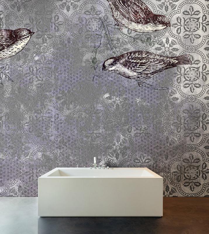 Ristrutturazione archives design lover - Carta da parati per bagno ...