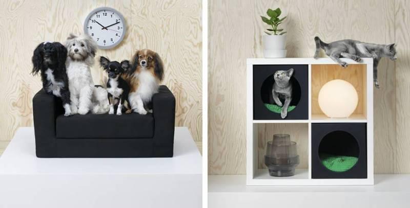Mobili Per Gatti Ikea : Lurvig collection ikea dedicata a cani e gatti design lover