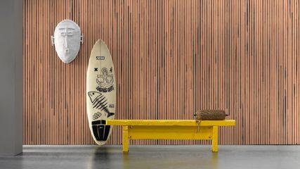 Timber Strips Wallpaper NLXL