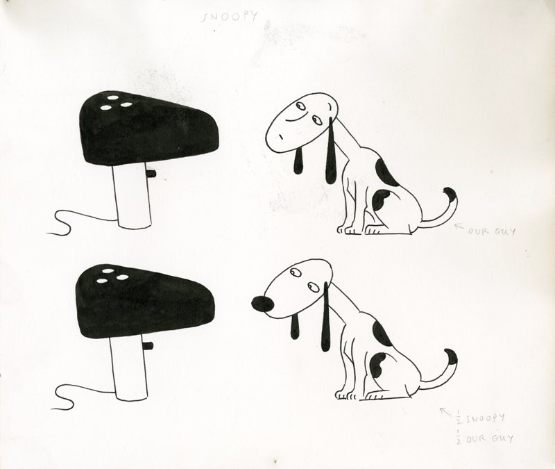 lampada da tavolo Snoopy