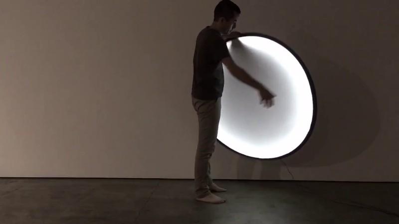 Lampada Collapsible Moon Pallucco