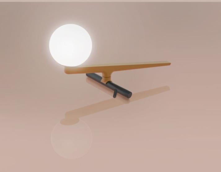 lampada da tavolo Yanzi