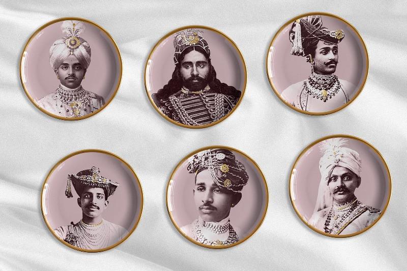 piatti Maharaja Les Ottomans