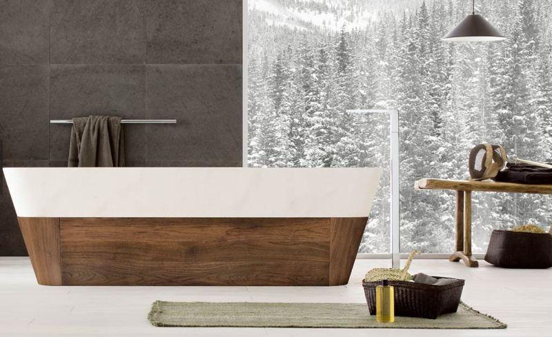 Le vasche da bagno in pietra di Neutra - Design Lover