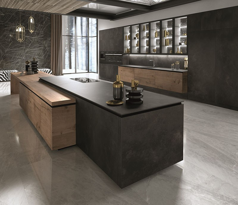 Cucine contemporanee snaidero a eurocucina 2018 design lover for Cucina way snaidero