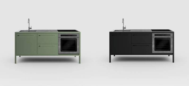 Frame kitchen Fantin