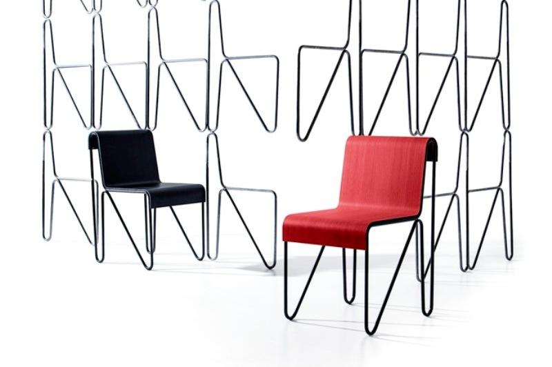 Cassina riedita la sedia beugel stoel di rietveld design for La sedia nel design