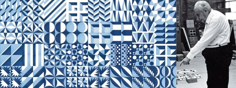 maioliche blu ponti