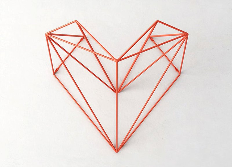 heart hang bike