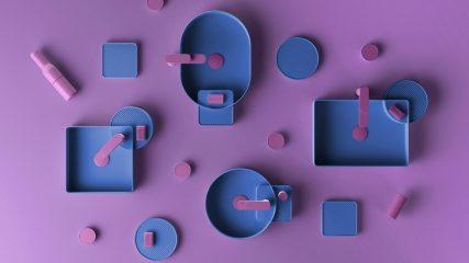lavabi da appoggio Cartesio Artceram