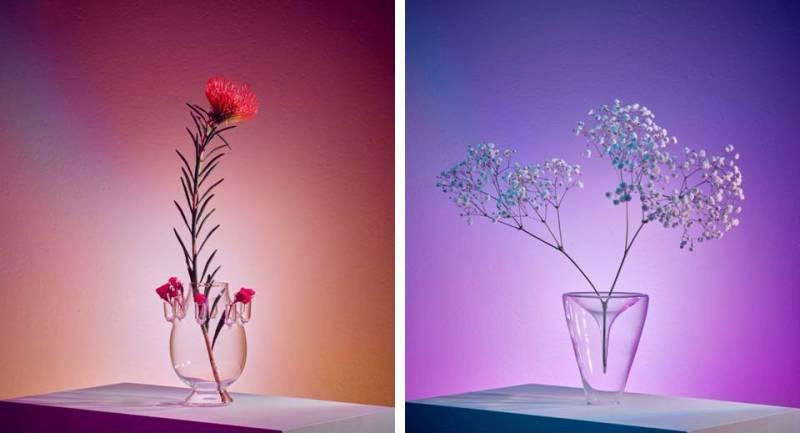 vasi da fiori Da Vetro