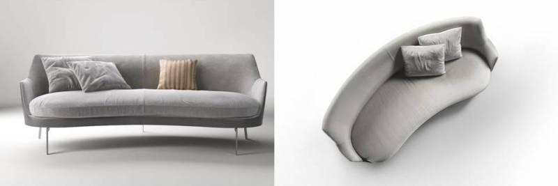 divano Guscio di Flexform