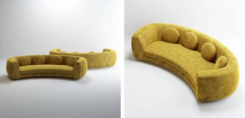 divano Jelly Pea di India Mahdavi