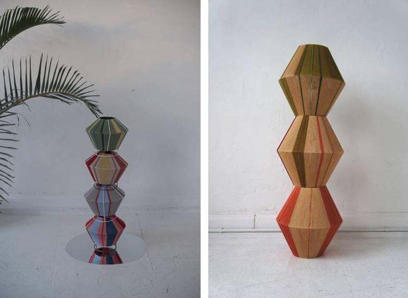 Le lampade artigianali di Wera Jane
