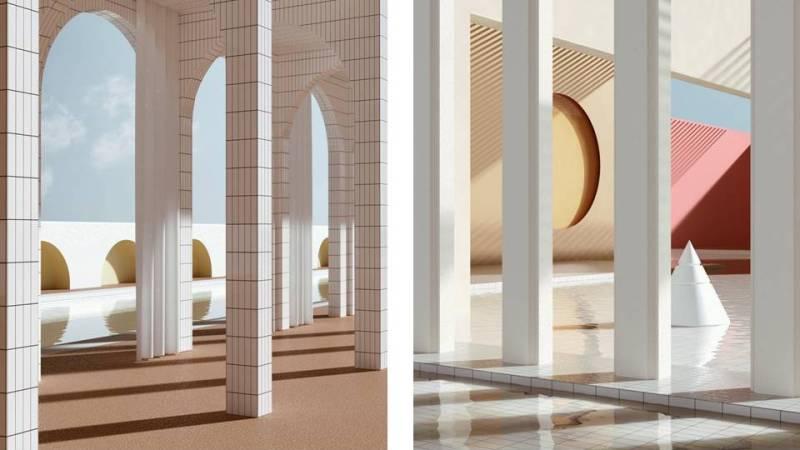 Architetture immaginarie di Alexis Christodoulou
