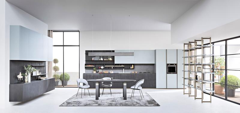 Living e cucina convivono armoniosamente - Design Lover