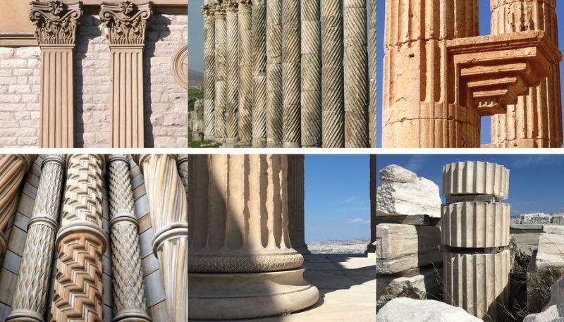colonne templi classici
