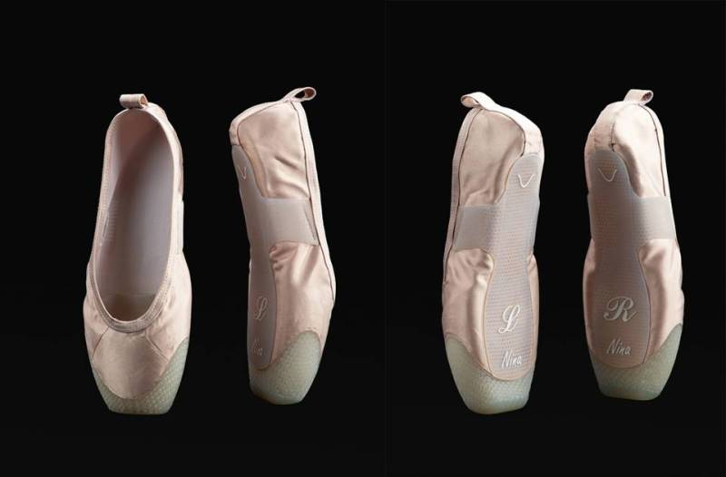 scarpette da punta P-rouette