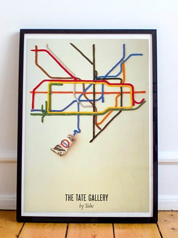 David Booth The Tate Gallery by Tube