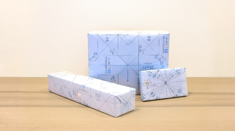 carta da pacco origami wrap Ilovehandles