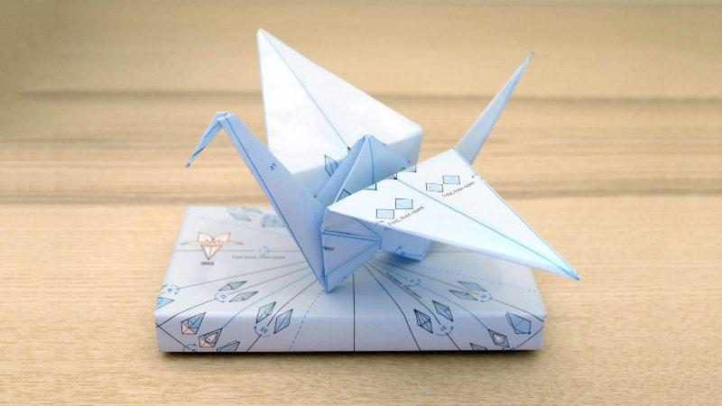 Origami Wrap : la carta da pacco riutilizzabile