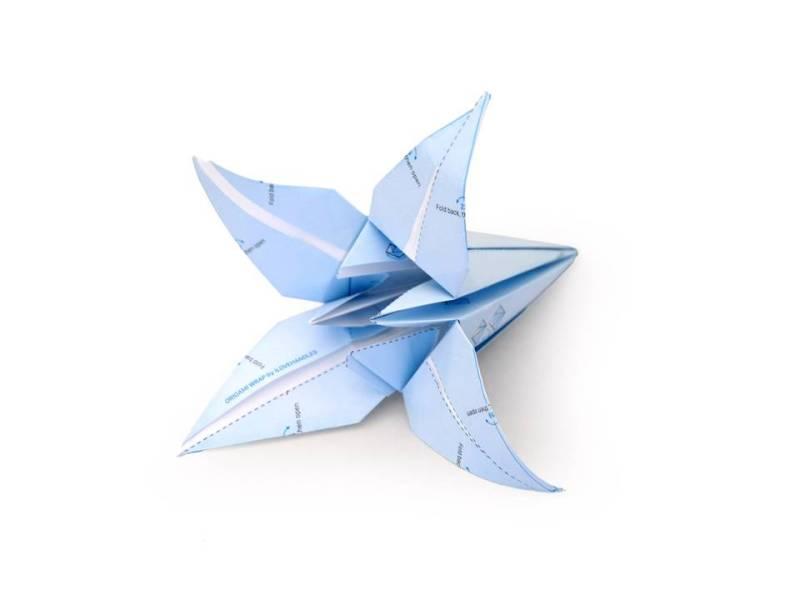 Lampada Origami Istruzioni : Origami archives design lover