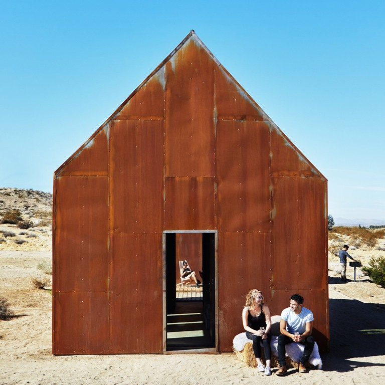The Folly Cabins : casette nel deserto della California