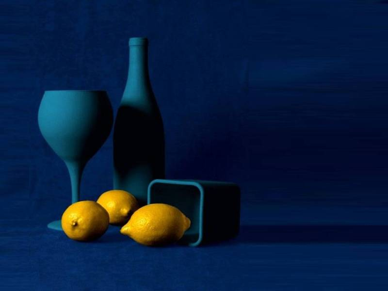giallo blu