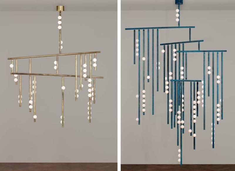 lampada Drop System Lindsey Adelman