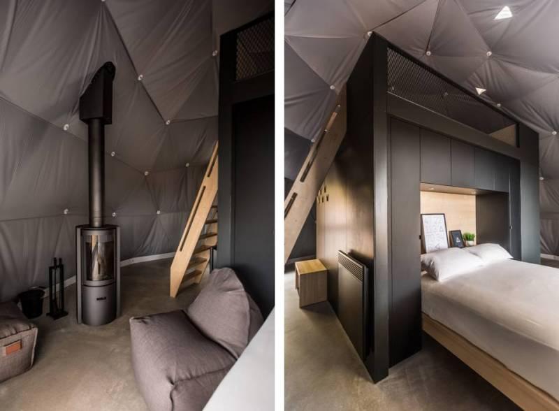 luxury eco resort domes charlevoix